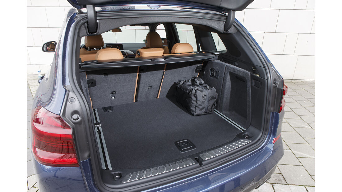 BMW X3 M40i xDrive, Kofferraum