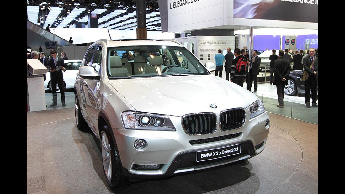 BMW X3 Paris 2010