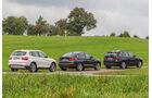 BMW X3, X4, X5, Seitenansicht