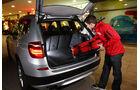 BMW X3 s-Drive 18d, Kofferraum, Beladen