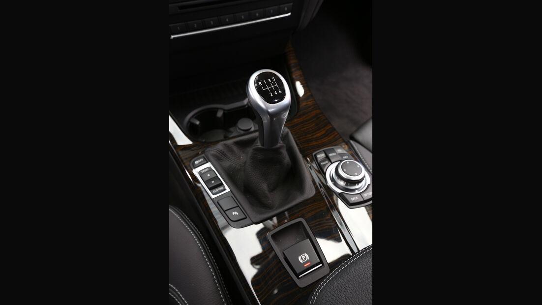 BMW X3 s-Drive 18d, Schalthebel, Schaltknauf