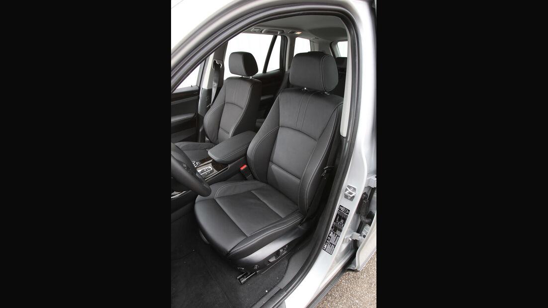 BMW X3 x-Drive 20d, Fahrersitz