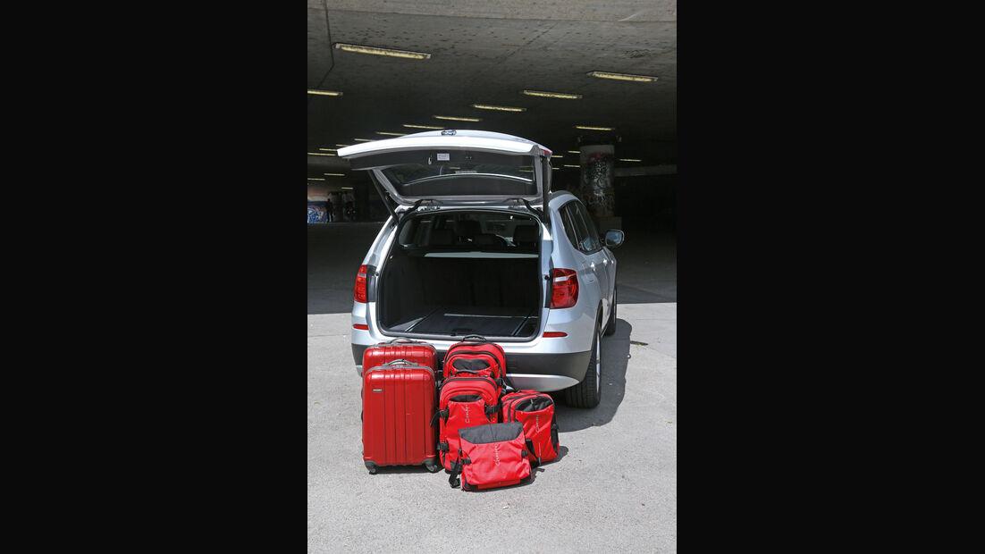 BMW X3 x-Drive 20d, Kofferraum