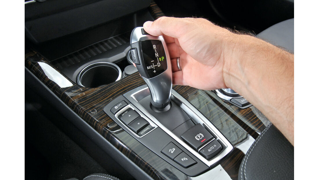 BMW X3 x-Drive 20d, Schalthebel, Schaltknauf