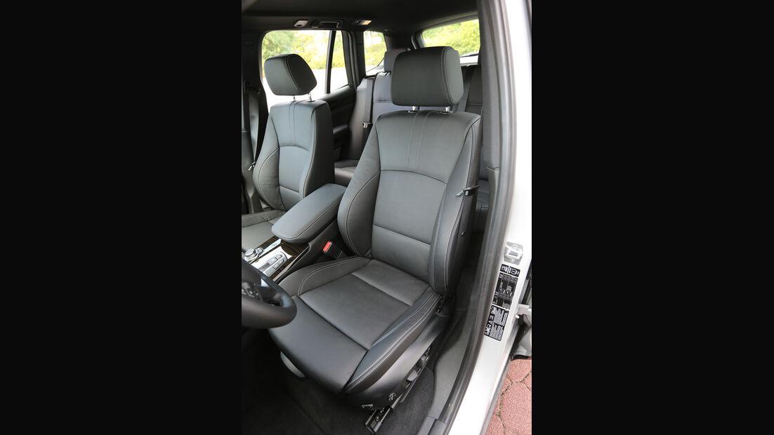 BMW X3 x-Drive 28i, Fahrersitz