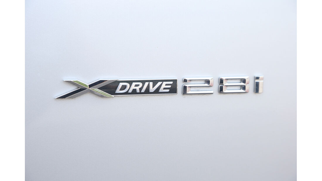 BMW X3 x-Drive 28i, Typenbezeichnung