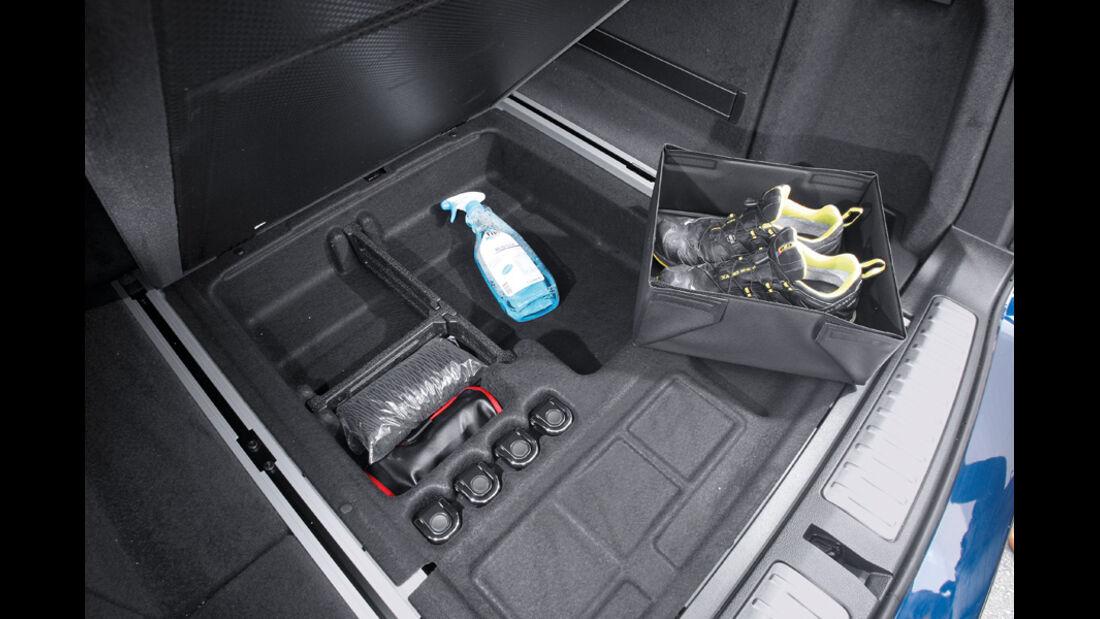 BMW X3 x-Drive 30d, Ablagefach