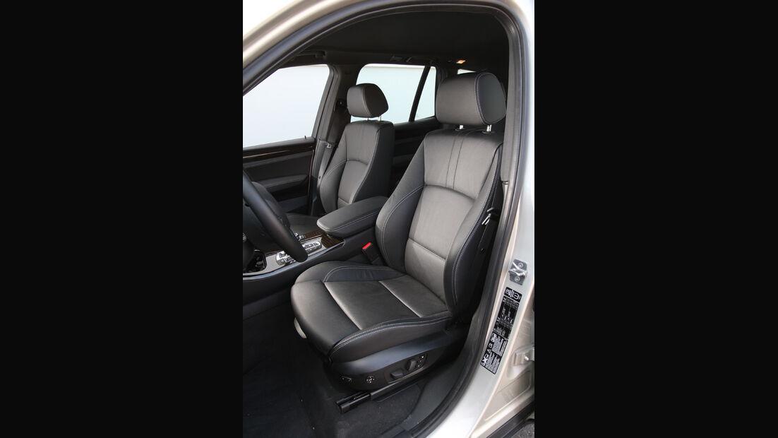 BMW X3 x-Drive 30d, Fahrersitz