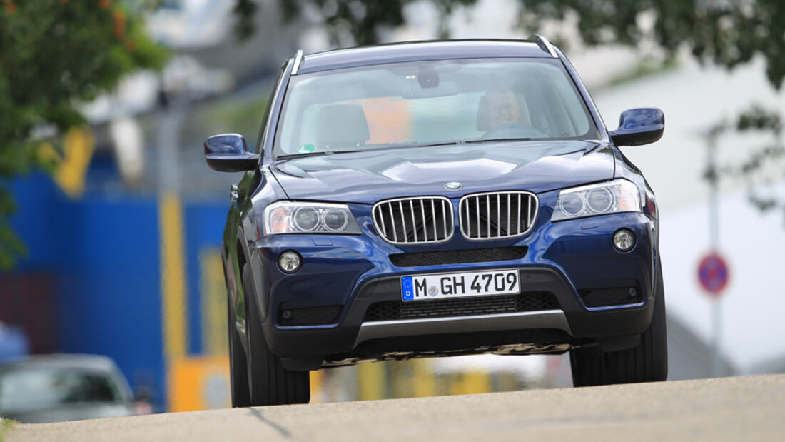 BMW X3 x-Drive 30d, Front, Frontansicht