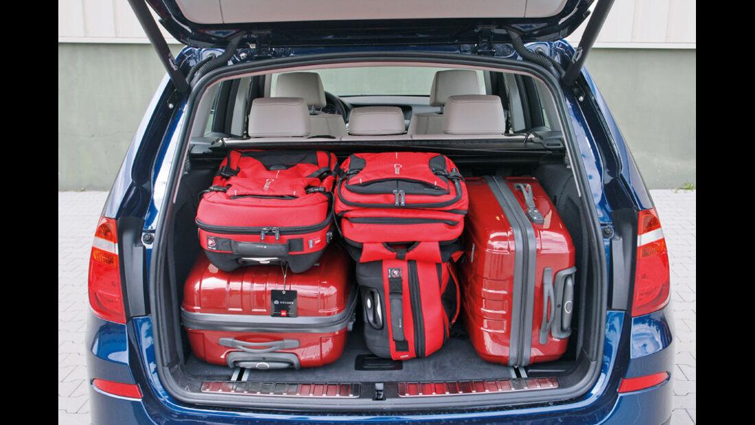 BMW X3 x-Drive 30d, Kofferraum, Ladevolumen