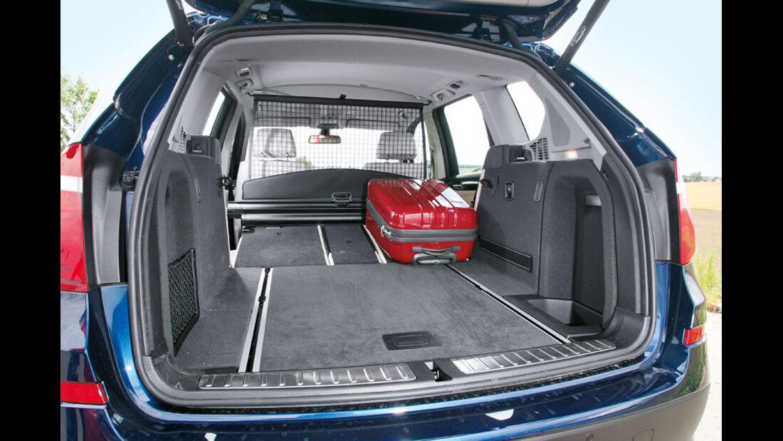 BMW X3 x-Drive 30d, Laderaum, Kofferraum, Sitze umgeklappt
