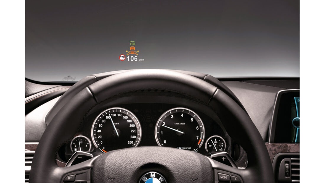 BMW X3 x-Drive 30d, Lenkrad, Anzeigeinstrumente