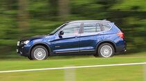 BMW X3 x-Drive 30d, Seitenansicht