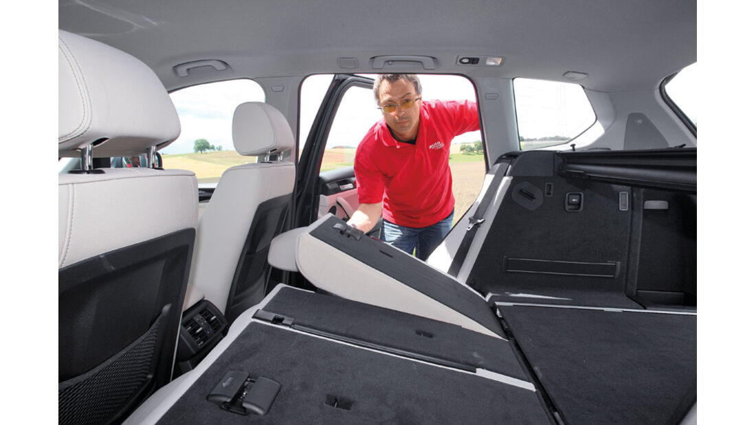 BMW X3 x-Drive 30d, Sitz umklappbar