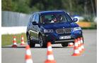 BMW X3 x-Drive 30d, Slalom, Frontansicht