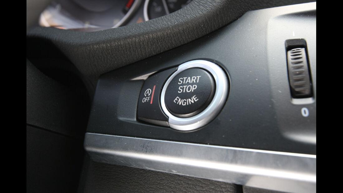 BMW X3 x-Drive 30d, Startknopf, Starter, Zündschloss