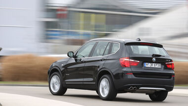 BMW X3 x-Drive 35d, Heck
