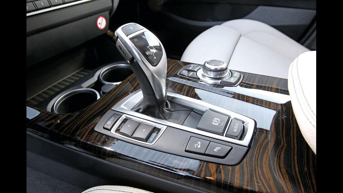 BMW X3 x-Drive 35d, Schalthebel, Schaltknauf