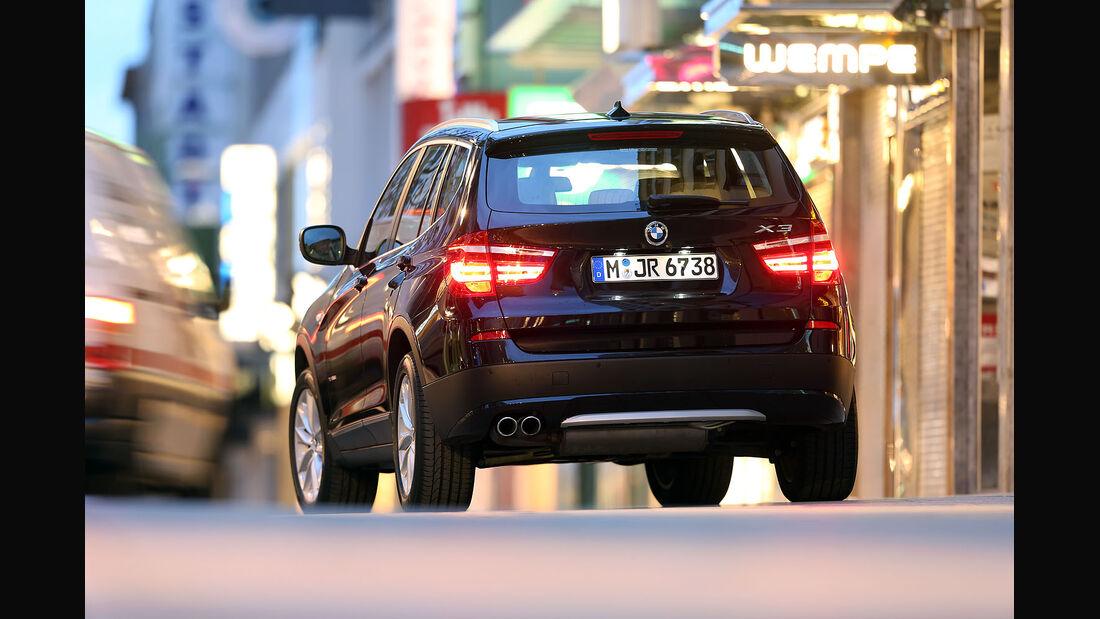 BMW X3 x-drive 35d Test
