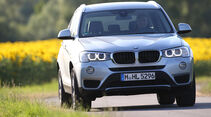 BMW X3 xDRIVE 20d, Frontansicht
