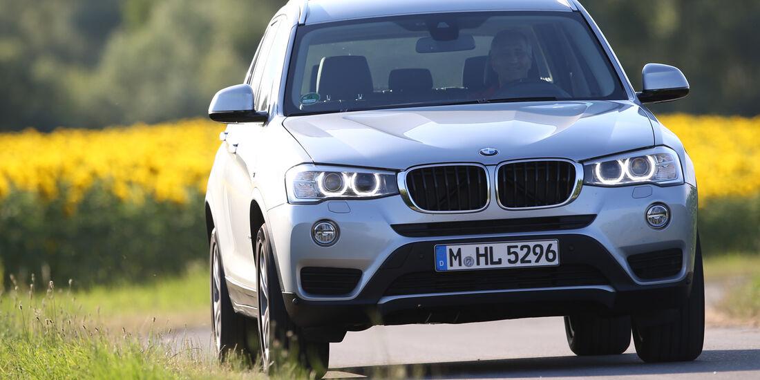 BMW X3 xDRIVE 20d, Frontansicht