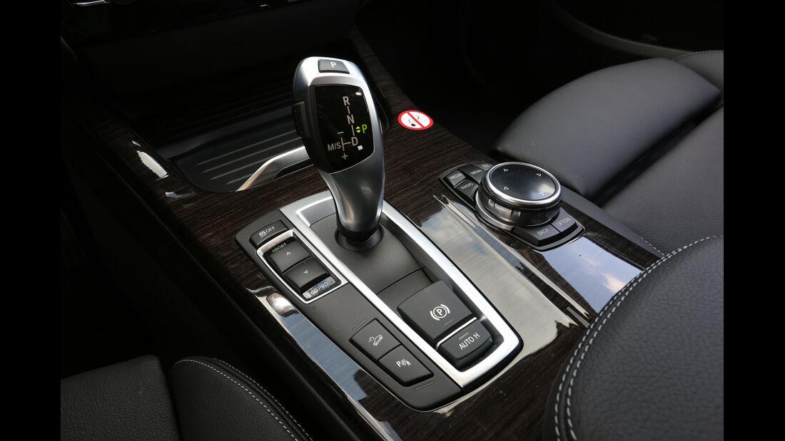 BMW X3 xDRIVE 20d, Schalthebel