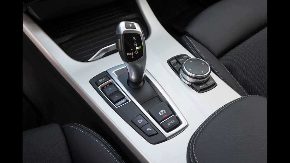 BMW X3 xDrive 20d, Bedienelemente