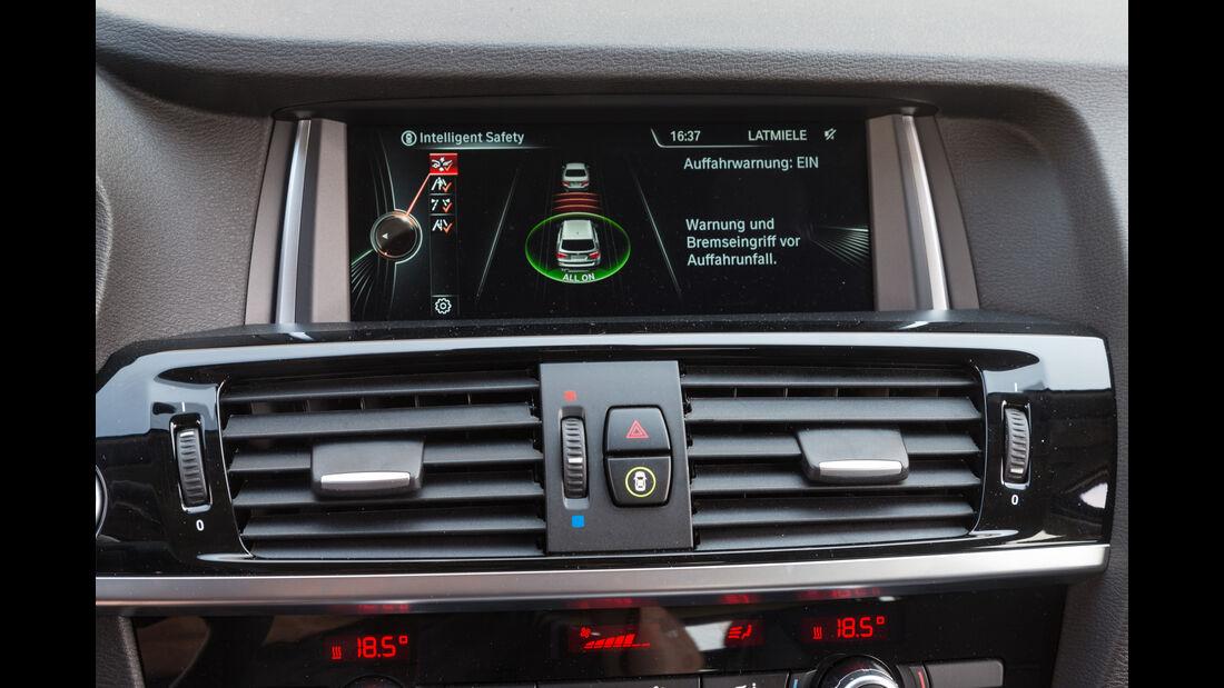 BMW X3 xDrive 20d, Display, Infotainment