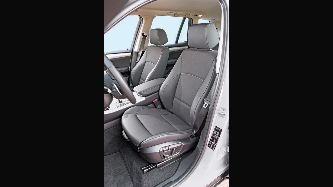 BMW X3 xDrive 20d, Fahrersitz