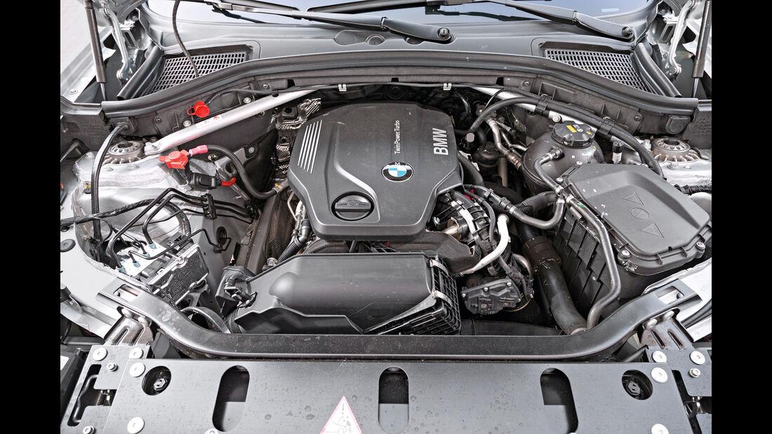 BMW X3 xDrive 20d, Motor