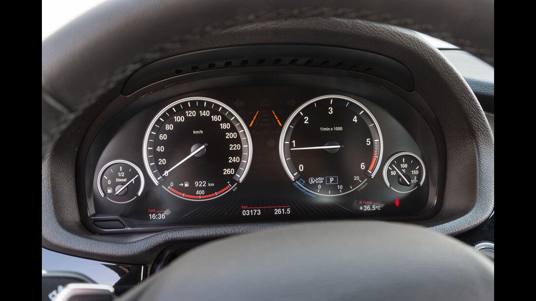 BMW X3 xDrive 20d, Rundinstrumente