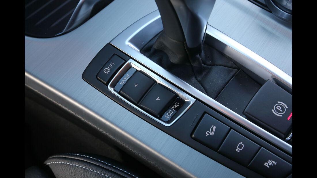 BMW X3 xDrive 28i, Bedienelemente