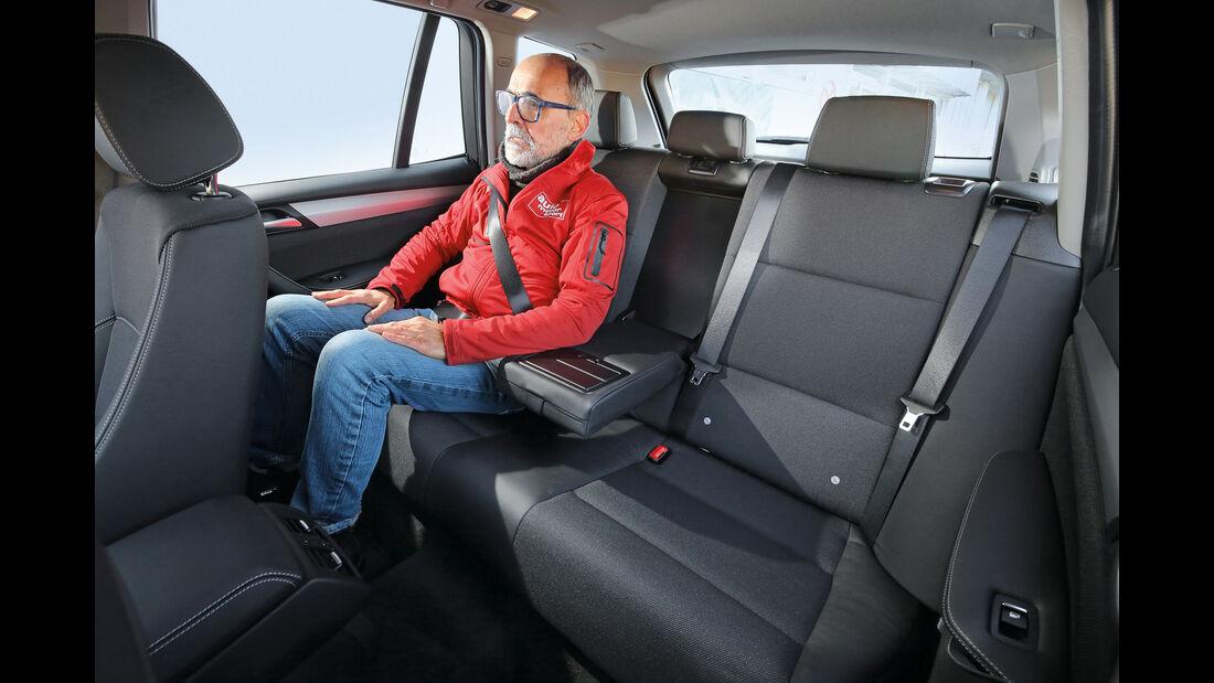 BMW X3 xDrive 28i, Fondsitz