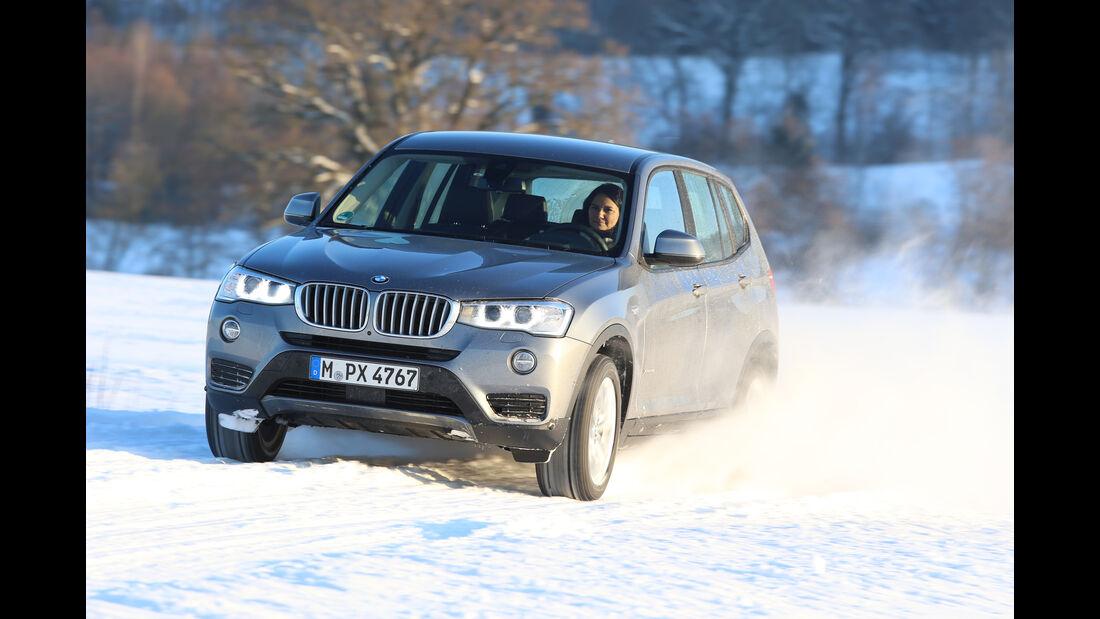 BMW X3 xDrive 28i, Frontansicht