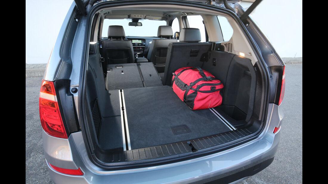 BMW X3 xDrive 28i, Kofferraum