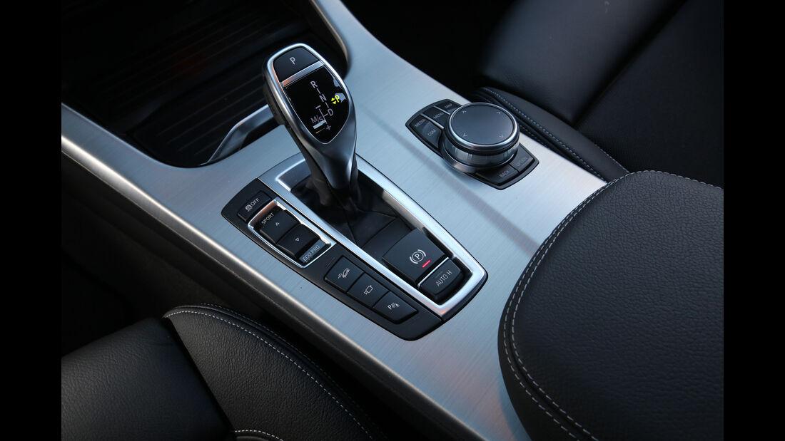 BMW X3 xDrive 28i, Schalthebel