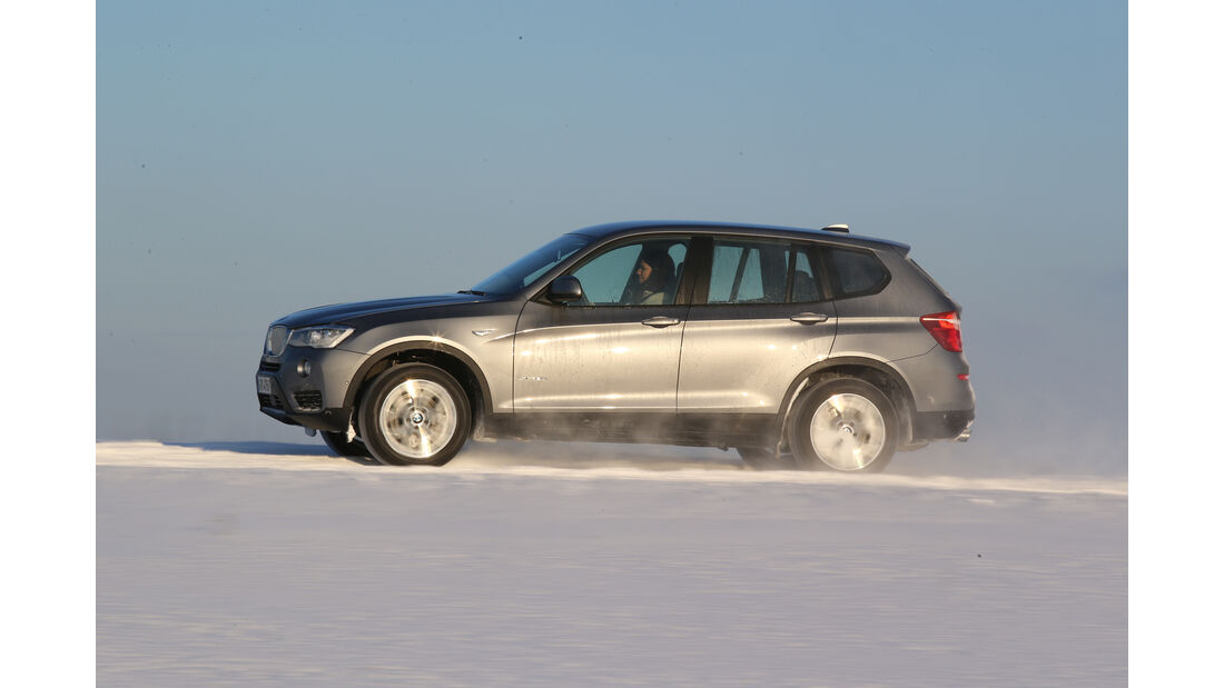 BMW X3 xDrive 28i, Seitenansicht