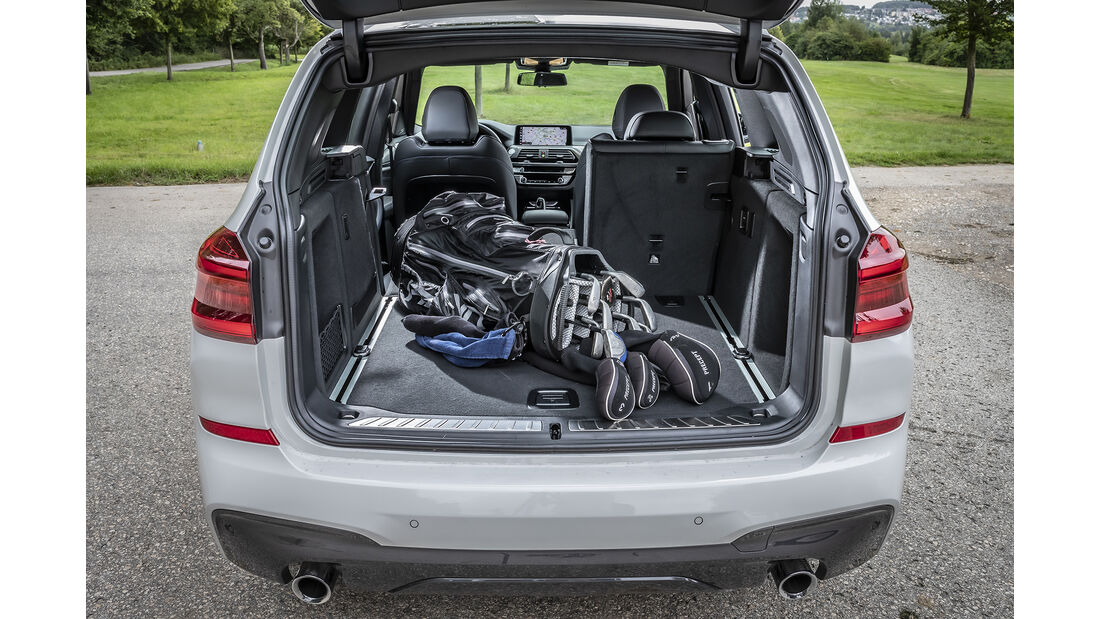 BMW X3 xDrive 30d, Kofferraum