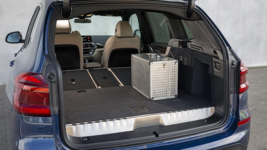 BMW X3 xDrive 30e, Interieur