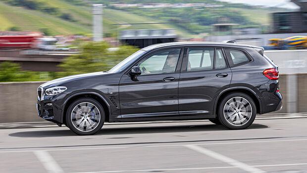 BMW X3 xDrive 30i, Exterieur