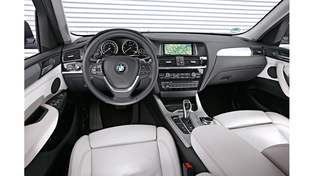 BMW X3 xDrive 35d, Cockpit