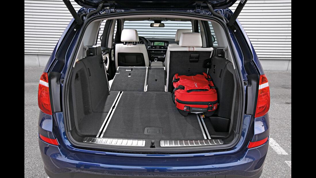 BMW X3 xDrive 35d, Kofferraum