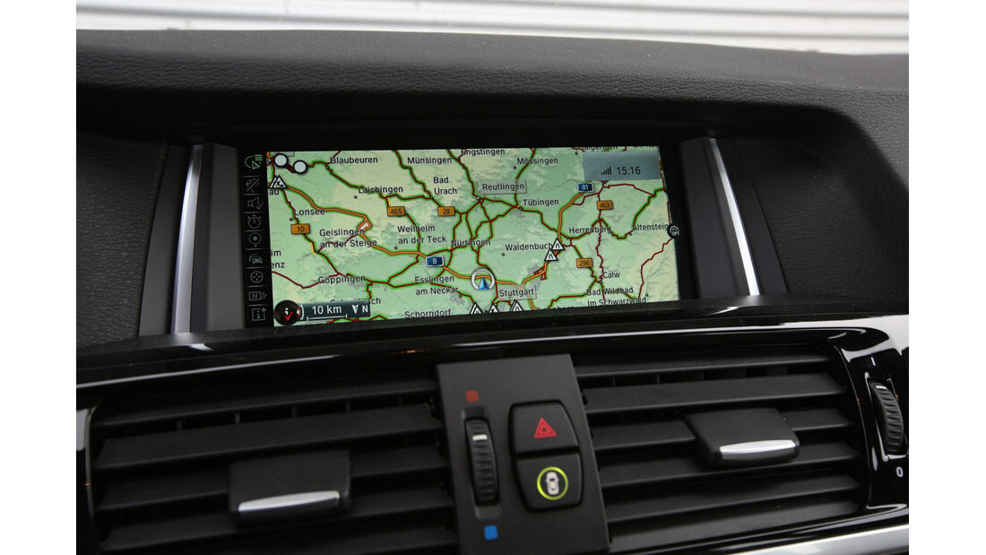 BMW X3 xDrive 35d, Navi, Bildschirm