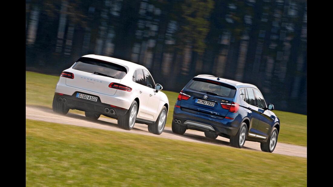 BMW X3 xDrive 35d, Porsche Macan S Diesel,