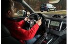 BMW X3 xDrive 35d, Porsche Macan S Diesel, Ausfahrt