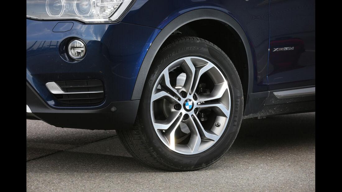 BMW X3 xDrive 35d, Rad, Felge