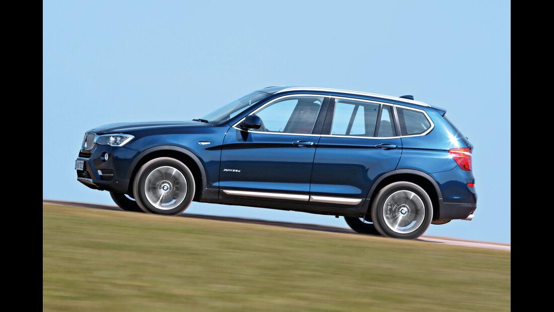 BMW X3 xDrive 35d, Seitenansicht