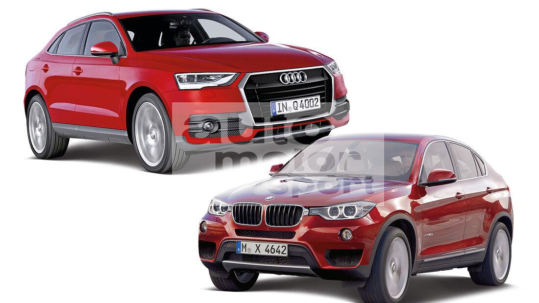 BMW X4, Audi Q4