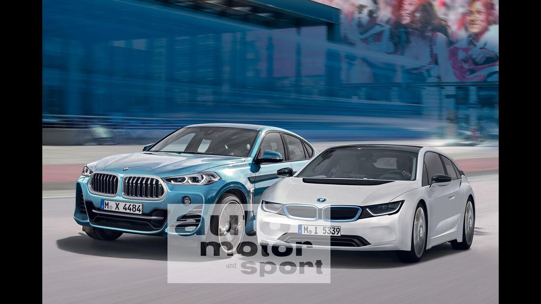 BMW X4, BMW i5