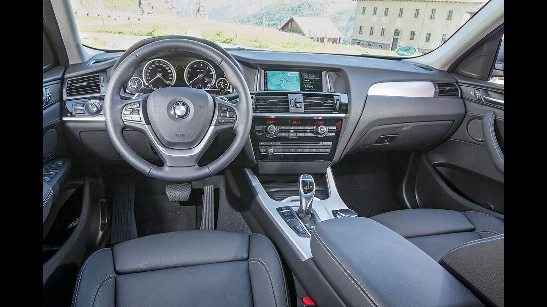 BMW X4, Cockpit